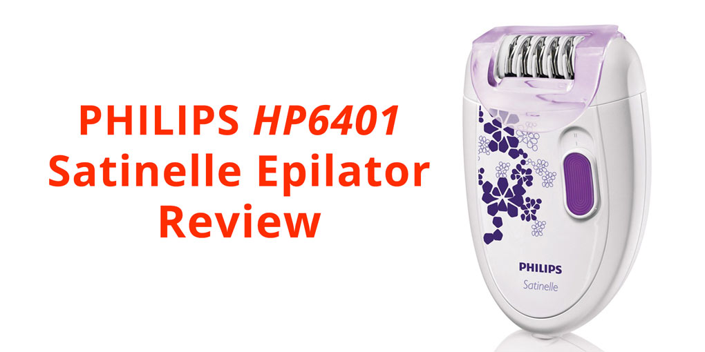 Philips Satinelle Essential HP6401 Compact Hair Removal Epilator Review
