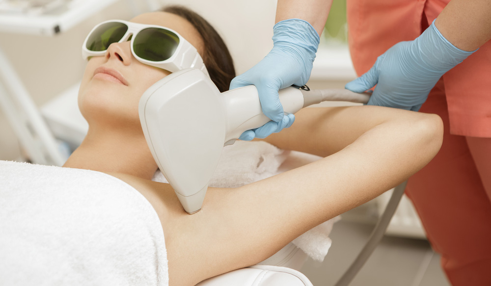underarms laser hair removal